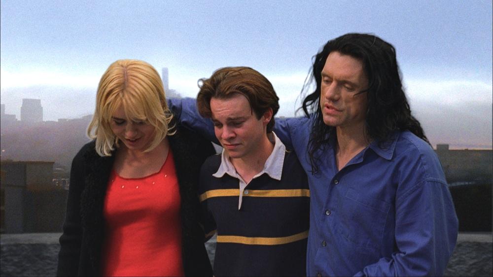 Juliette Danielle, Phillip Haldiman & Tommy Wiseau in The Room (2003)