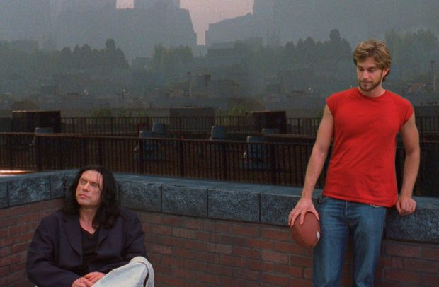 Tommy Wiseau & Greg Sestero in The Room (2003)