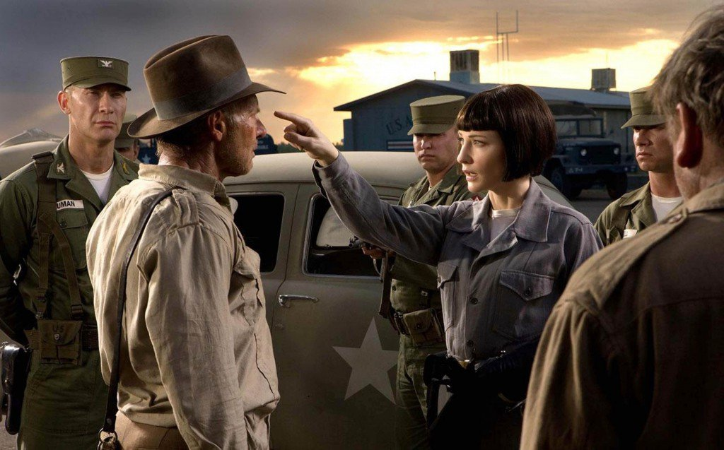 Harrison Ford & Cate Blanchett in Indiana Jones & The Kingdom of the Crystal Skull (2008)