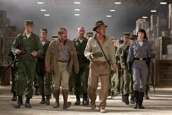 Ray Winstone, Harrison Ford & Cate Blanchett in Indiana Jones & The Kingdom of the Crystal Skull (2008)