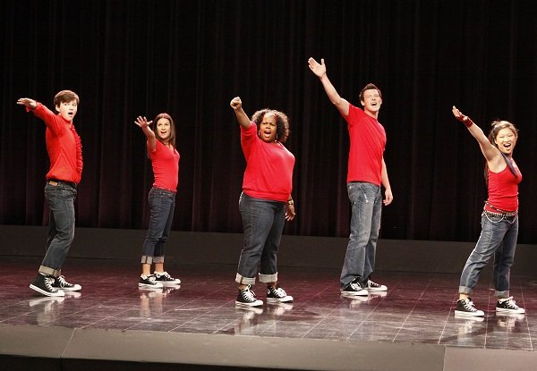 "Glee pilot, ""Don't Stop Believing"""