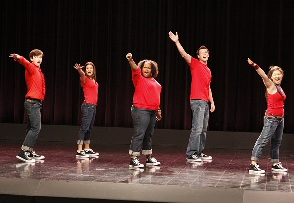 "Glee pilot, ""Don't Stop Believing"""