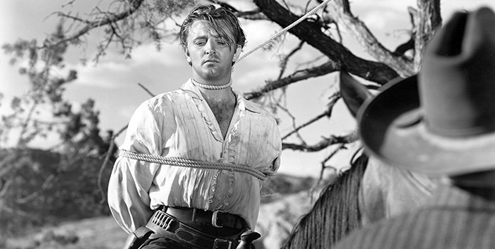 Pursued Sees Another Dark Past Give Chase To Robert Mitchum Popoptiq