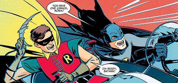 Batman '66 by Jonathan Case