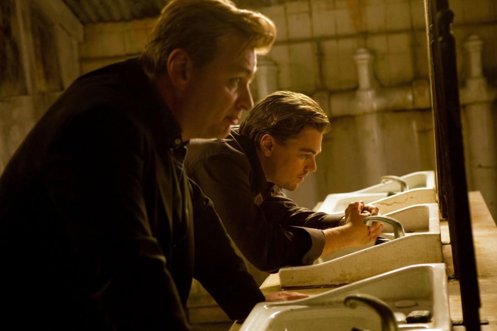 Christopher Nolan & Leonardo DiCaprio in Inception (2010)