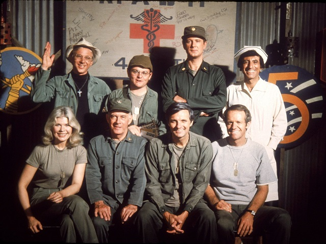 MASH late series cast