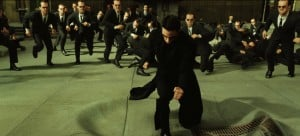 Neo's invincibility in the sequels makes him a problematic protagonist