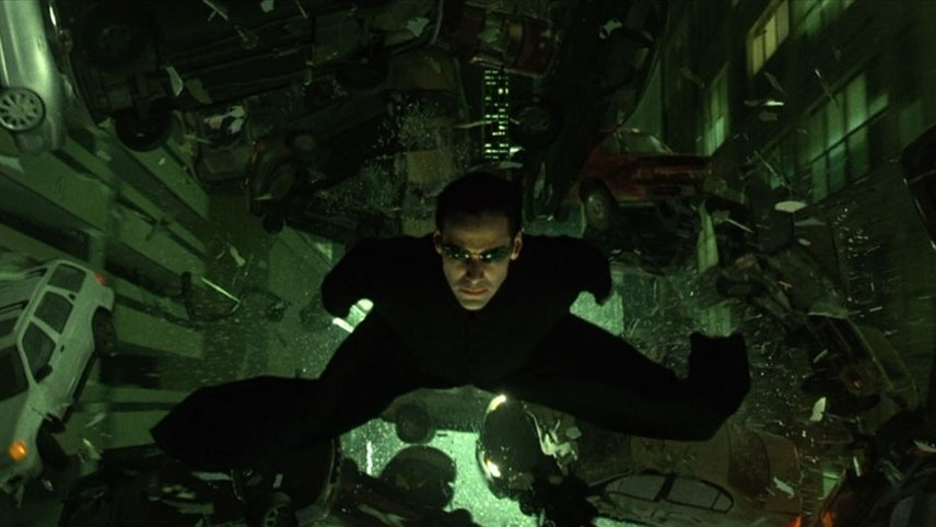 Keanu Reeves in The Matrix Reloaded (2003)