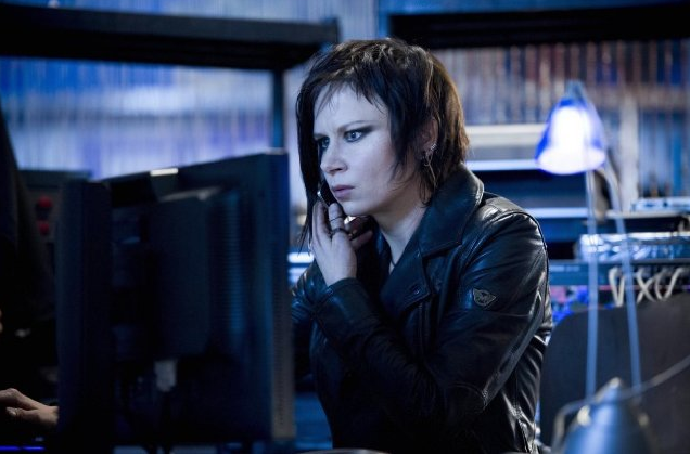 Chloe O'Brian (Mary Lynn Rajskub) sports a new look in 24: Live Another Day