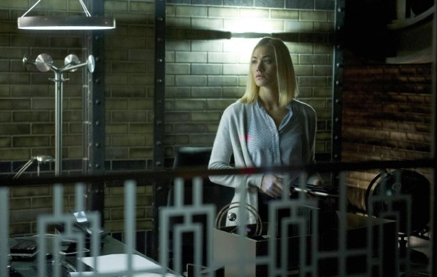 Kate Morgan (Yvonne Strahovski) is a CIA agent working in London in 24: Live Another Day