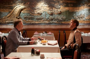 Albert Brooks & Ryan Gosling in Drive (2011)