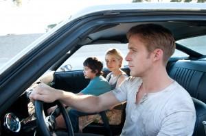 Kaden Leos, Carey Mulligan & Ryan Gosling in Drive (2011)