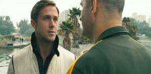 Ryan Gosling & James Biberi in Drive (2011)