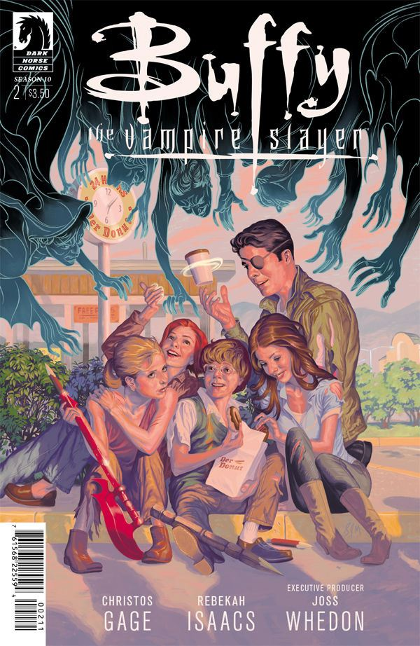 Buffy the Vampire Slayer: Season 10 #2 continues the good vibes reunion