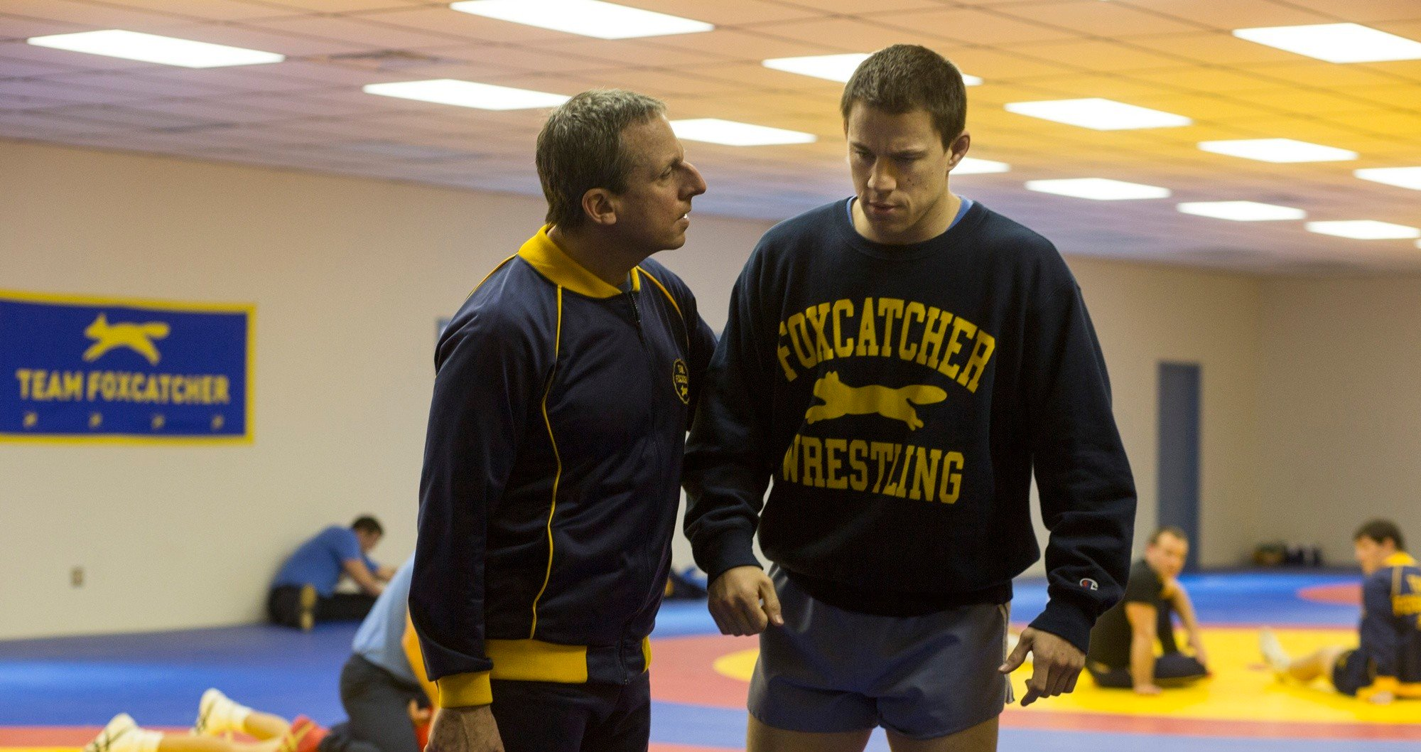 Foxcatcher - Channing Tatum and Steve Carell