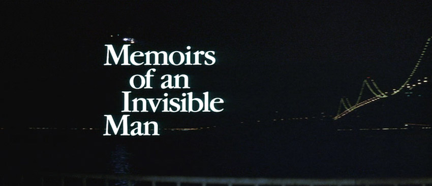 The Nostalgia Files: 'Memoirs of an Invisible Man' (1992)