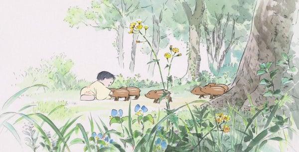The Tale of Princess Kaguya - Isao Takahata