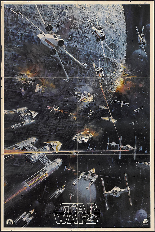John Berkey Star Wars 1977 Poster Art Sound On Sight