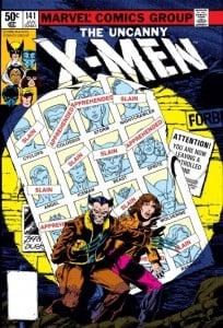 x men comic 1
