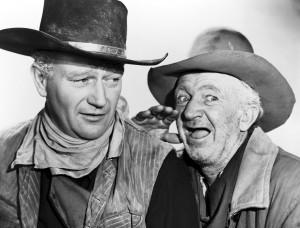 John_Wayne - red river - & Walter Brennan
