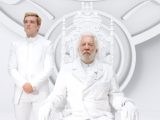 President Snow and Peeta Mellark