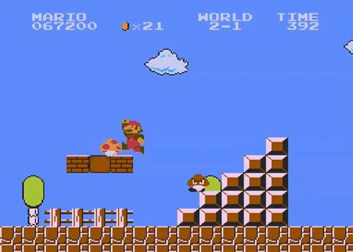 Super Mario Bros ' favors experience over story - PopOptiq