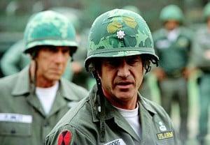 Sam Elliott & Mel Gibson in We Were Soldiers (2002)