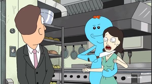 "Rick and Morty, ""Meeseeks & Destroy"""