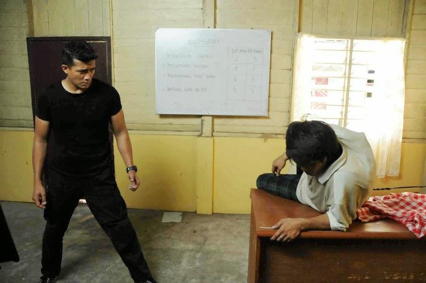 aaron aziz fight film lari 2013 2