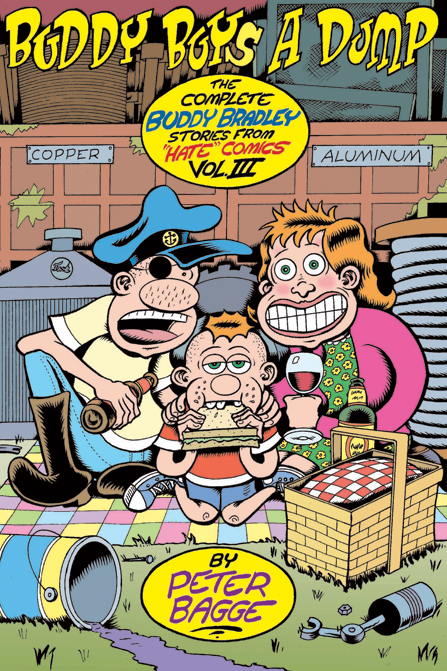 Peter Bagge's New Collection of Hate Comics