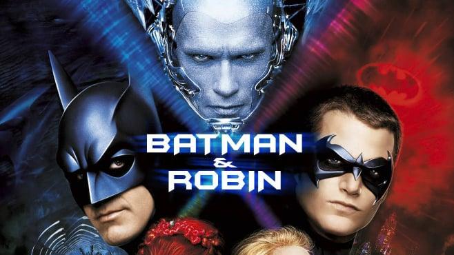 Official poster for Batman & Robin (1997)