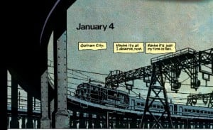 Batman Year One Page 1