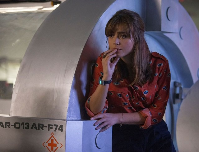"""Doctor Who, S08E02 promo pic, """"Into the Dalek"""""""