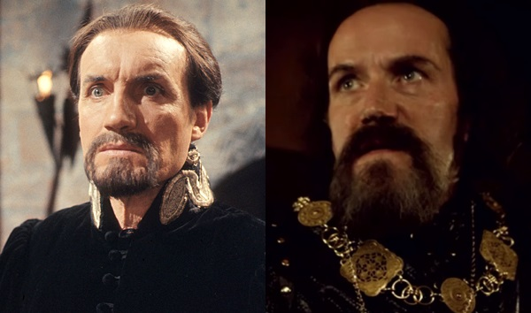 Doctor Who: Anthony Ainley as the Master and Ben Miller as the Sheriff of Nottingham
