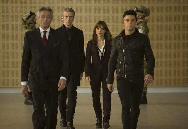 """Doctor Who S08E05 promo image, """"Time Heist"""""""
