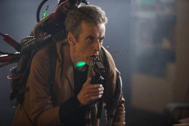"Doctor Who S08E06 ""the Caretaker"" promo image"