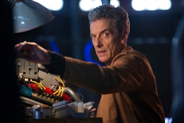 "Doctor Who S08E06 ""the Caretaker"" promo image"