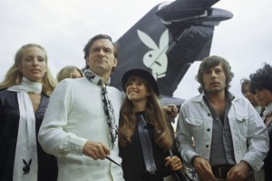 Hugh Hefner and Friends 1970