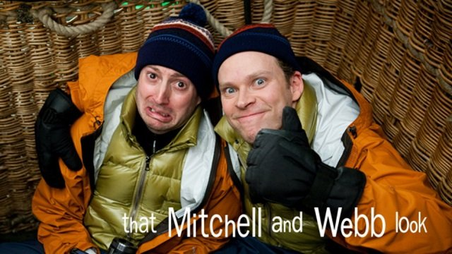 That Mitchell and Webb promo poster