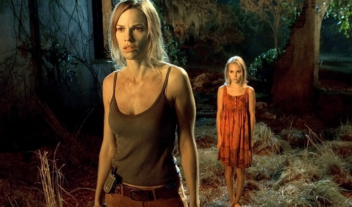 "Hilary Swank in ""The Reaping"""