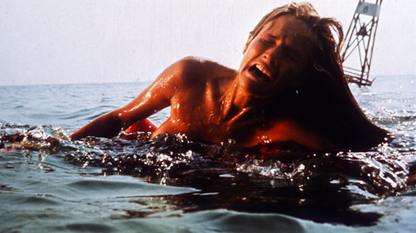 Jaws (1975)Directed by Steven SpielbergShown: Denise Cheshire