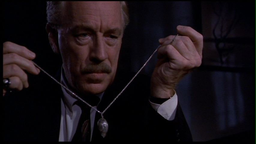 "The great Max von Sydow as the devil in ""Needful Things"""
