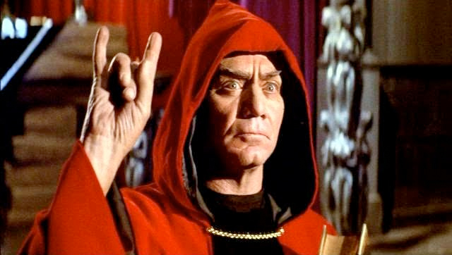 "Ernest Borgnine in ""The Devil's Rain"""
