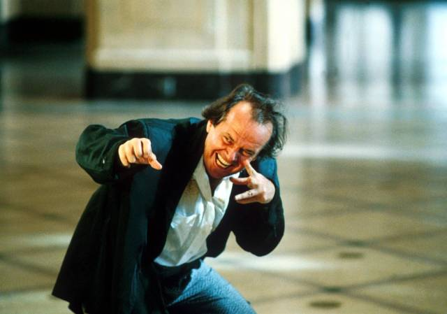 """Nicholson in """"The Witches of Eastwick"""""""