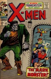 X-Men #40 - Cover