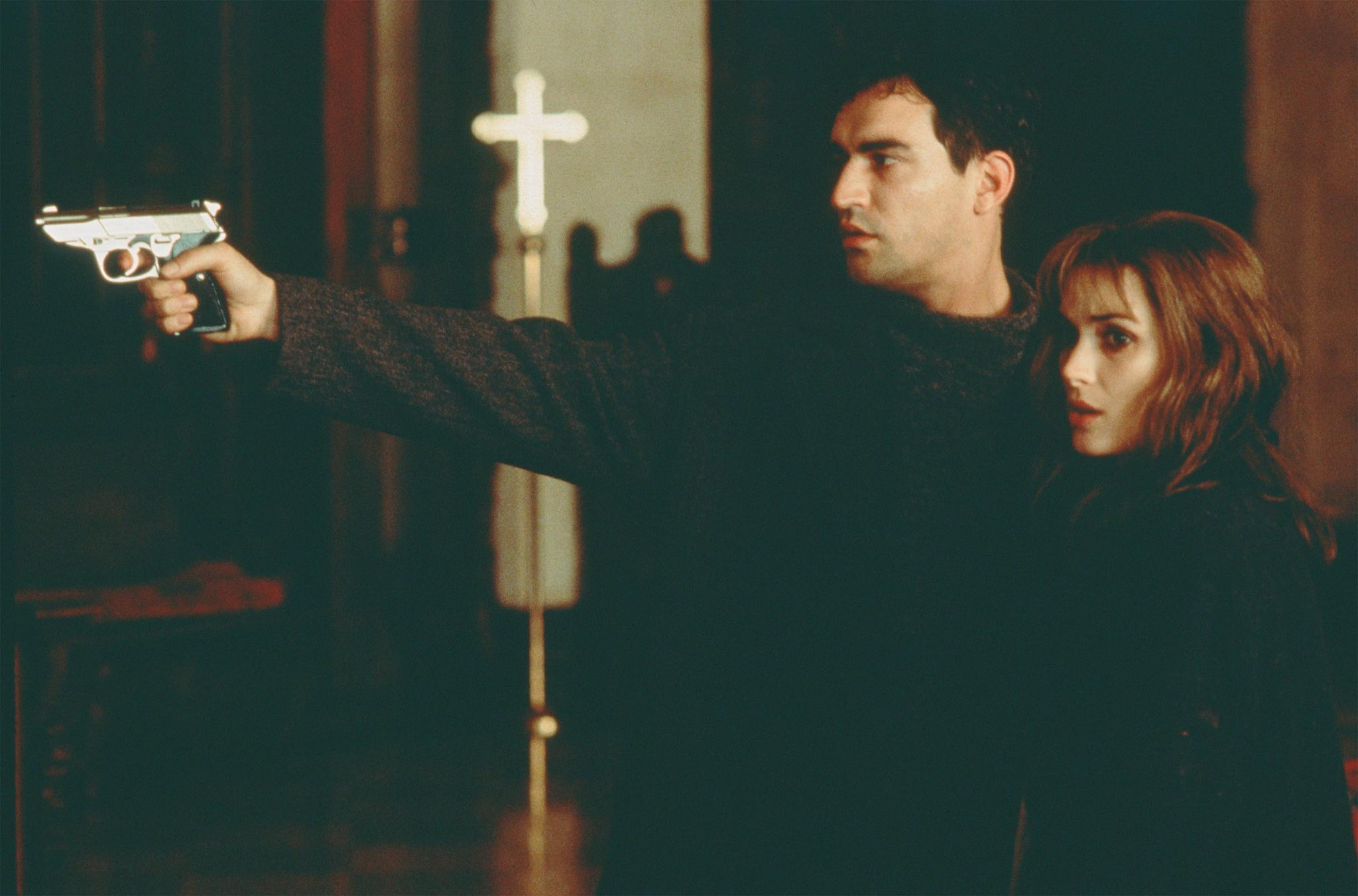 "Winona Ryder and Ben Chaplin in ""Lost Souls"""