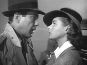 screenshot from Casablanca