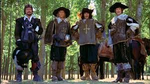four musketeers header