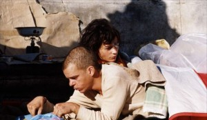 screenshot from Lovers on the Bridge