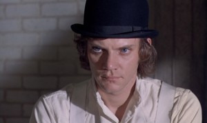 screenshot from A Clockwork Orange